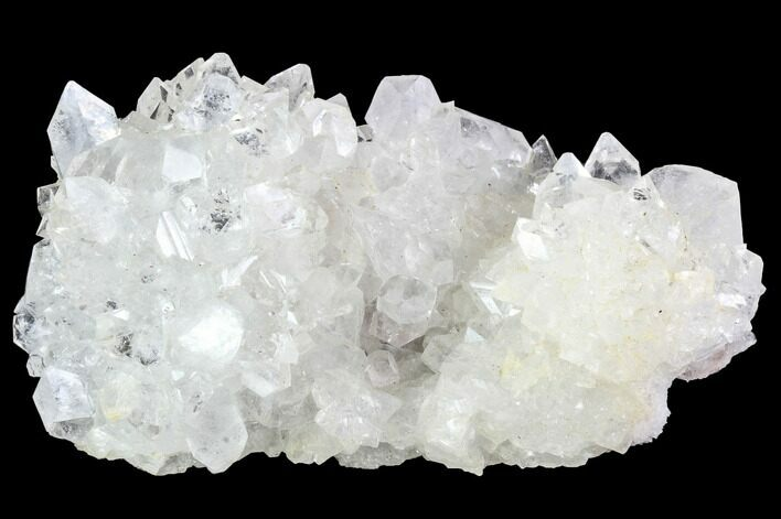 "3.8"" Clear/White Apophyllite Crystal Cluster - India"