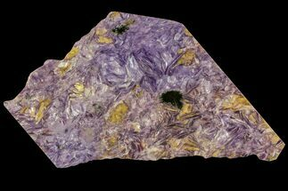 "Buy 7.8"" Beautiful, Purple, Polished Charoite Slab - Siberia - #93469"