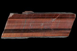 "Buy 7.1"" Polished Red Tiger's Eye Slab - South Africa - #93919"