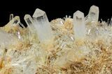 "19"" Cluster Of ""Blue Smoke"" Quartz With Cookeite - Colombia - #94188-1"