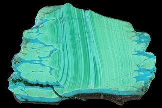 Malachite & Chrysocolla  - Fossils For Sale - #94494