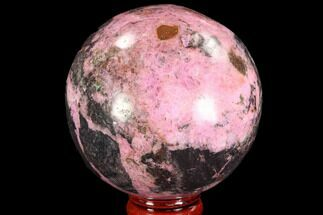 "Buy 2.5"" Polished Cobaltoan Calcite Sphere - Congo - #95017"