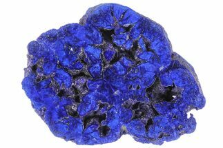 "Buy 1.55"" Vivid Blue, Cut/Polished Azurite Nodule - Siberia - #94558"