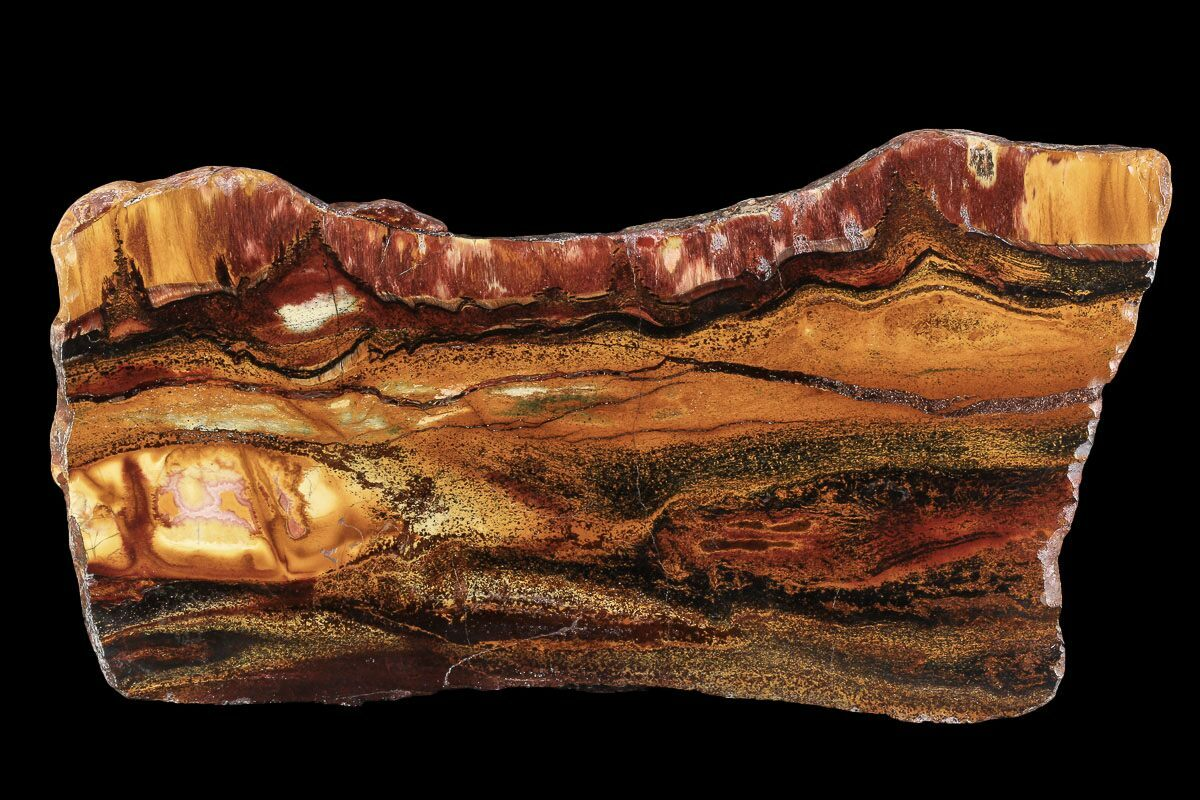 "7.7"" Marra Mamba Tigers Eye - Mt. Brockman (2.7 Billion Years)"