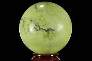 "Buy 3.2"" Polished Green Opal Sphere - Madagascar - #95869"