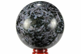 "2.9"" Polished, Indigo Gabbro Sphere - Madagascar For Sale, #96002"