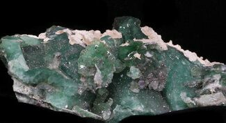Fluorite & Quartz - Fossils For Sale - #33360