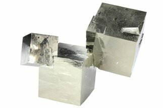 Natural Pyrite Cube Cluster From Spain For Sale, #97898