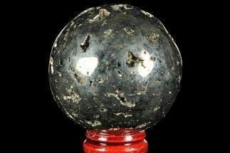 "Buy 2"" Polished Pyrite Sphere - Peru - #97978"