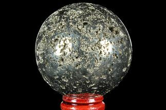 "Buy 2.1"" Polished Pyrite Sphere - Peru - #97981"