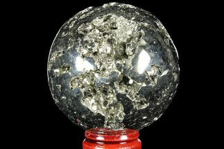 "Buy 2.2"" Polished Pyrite Sphere - Peru - #97984"