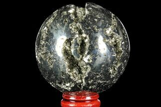 "Buy 2.3"" Polished Pyrite Sphere - Peru - #97987"