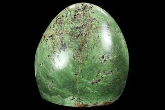 "3.6"" Polished Green Chrysoprase Freeform - Madagascar For Sale, #99356"
