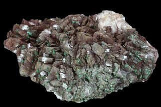 "Buy 5.4"" Rosasite, Selenite and Ferroan Dolomite Association - Morocco - #98935"