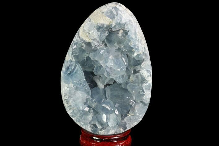 "4.1"" Crystal Filled Celestine (Celestite) ""Egg"" Geode - Madagascar"