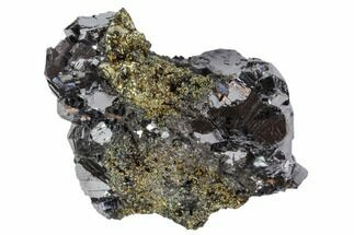 Galena & Pyrite - Fossils For Sale - #102543