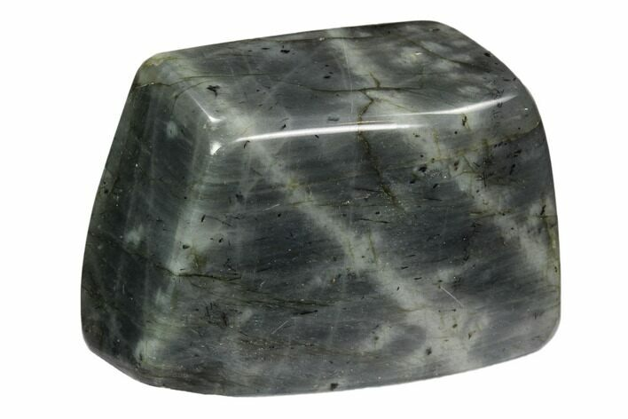 "Bargain, 3.8"" Wide Polished Labradorite - Madagascar"