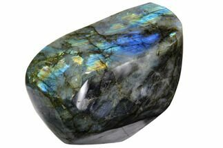 "Buy 4.9"" Wide, Flashy Polished Labradorite Free Form - #90667"