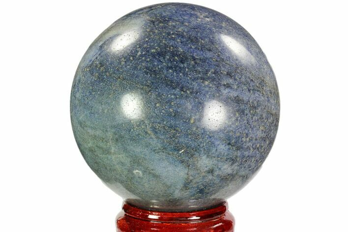 "5.2"" Polished Lazurite Sphere - Madagascar"