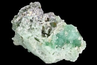 Fluorite & Quartz - Fossils For Sale - #33369