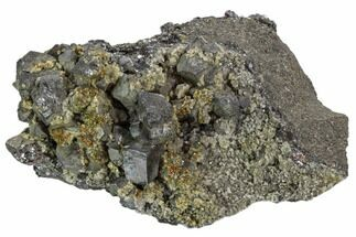 Chalcopyrite, Galena & Dolomite - Fossils For Sale - #103824