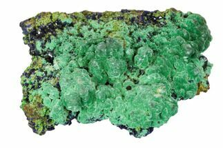 "Buy 1.7"" Malachite On Azurite Cluster - Morocco - #104374"