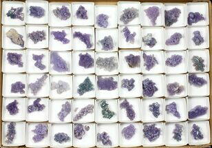 Wholesale Lot: Grape Agate From Indonesia - 54 Pieces For Sale, #105233