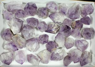 "Buy Wholesale Lot: 1.5-3"" Amethyst Points - 38 Pieces - Brazil - #105349"
