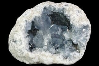 "Large, 9.1"" Celestine (Celestite) Geode (20.5 Lbs) - Large Crystals! For Sale, #104615"