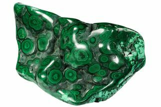 "Buy 6.1"" Polished Malachite Specimen - Congo - #106240"
