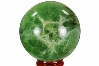 "2.45"" Polished Green Fluorite Sphere - Madagascar For Sale, #106283"