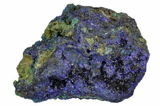 "Buy 3.4"" Sparkling Azurite Crystals With Malachite - Laos - #107203"