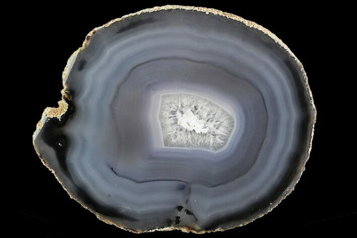 "5.3"" Polished Brazilian Agate Slice"