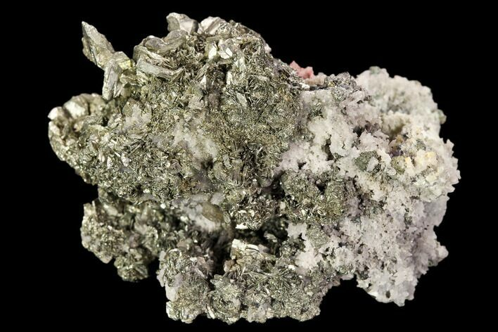 "1.8"" Marcasite, Quartz and Bladed Barite Association - Morocco"