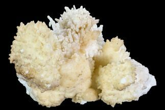 "5.2"" White Aragonite and Calcite Formation - Fluorescent For Sale, #107939"