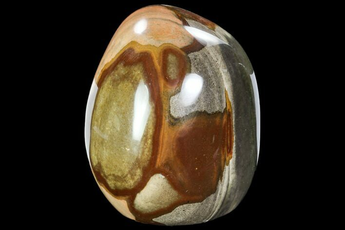 "3.6"" Tall, Polychrome Jasper Freeform - Madagascar"