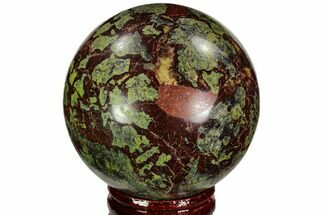 "Buy 2.45"" Polished Dragon's Blood Jasper Sphere - South Africa - #108556"