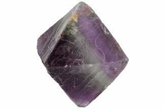 "Buy 1.75"" Purple/Green Banded Fluorite Octahedron - China - #110044"