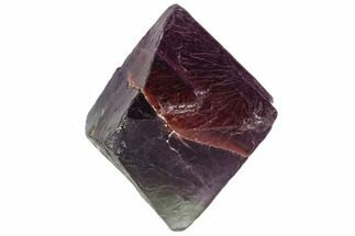 "1.9"" Purple/Green Banded Fluorite Octahedron - China For Sale, #110051"