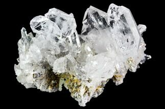 "2.3"" Faden Quartz Crystal Cluster - Pakistan For Sale, #111305"