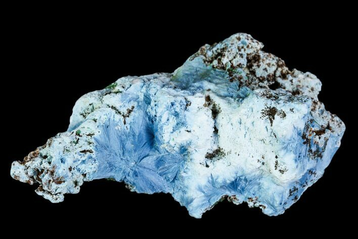 "2.05"" Light-Blue Shattuckite Specimen - Tantara Mine, Congo"