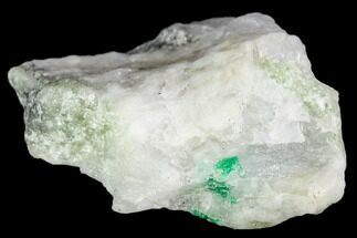 "1.7"" Beryl (Var. Emerald) in Calcite - Khaltoru Mine, Pakistan For Sale, #112067"