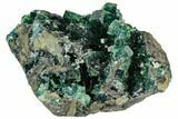 "3.5"" Green Cubic Fluorite Crystal Cluster - China - #112635-1"