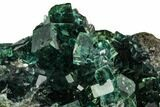 "3.5"" Green Cubic Fluorite Crystal Cluster - China - #112635-2"