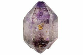 Quartz var. Amethyst/Smoky & Hematite - Fossils For Sale - #113445