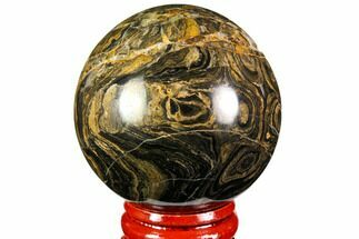 "Buy 2"" Polished Stromatolite (Greysonia) Sphere - Bolivia - #113551"