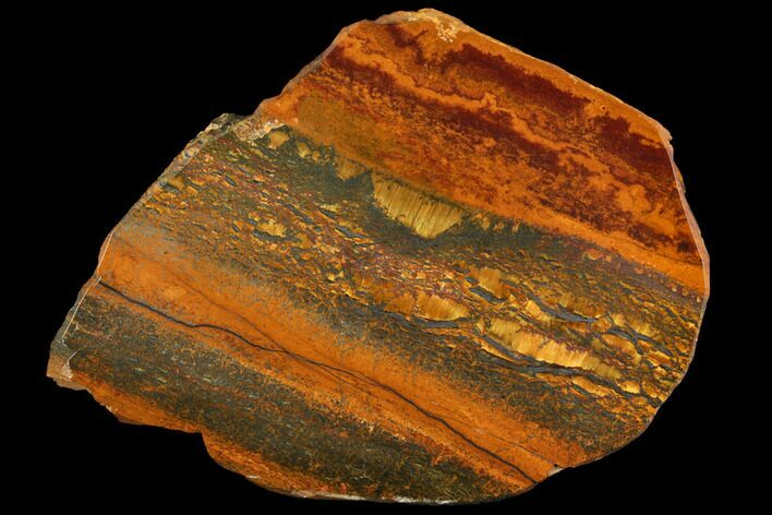 "3.5"" Marra Mamba Tigers Eye - Mt. Brockman (2.7 Billion Years)"