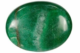 "1.8"" Polished Green Aventurine Pocket Stone  For Sale, #115445"