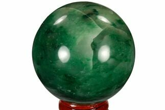 "Buy 2.3"" Polished Swazi Jade (Nephrite) Sphere - South Africa - #115561"
