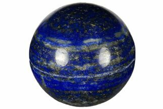 "1.2"" Polished Lapis Lazuli Sphere For Sale, #115928"